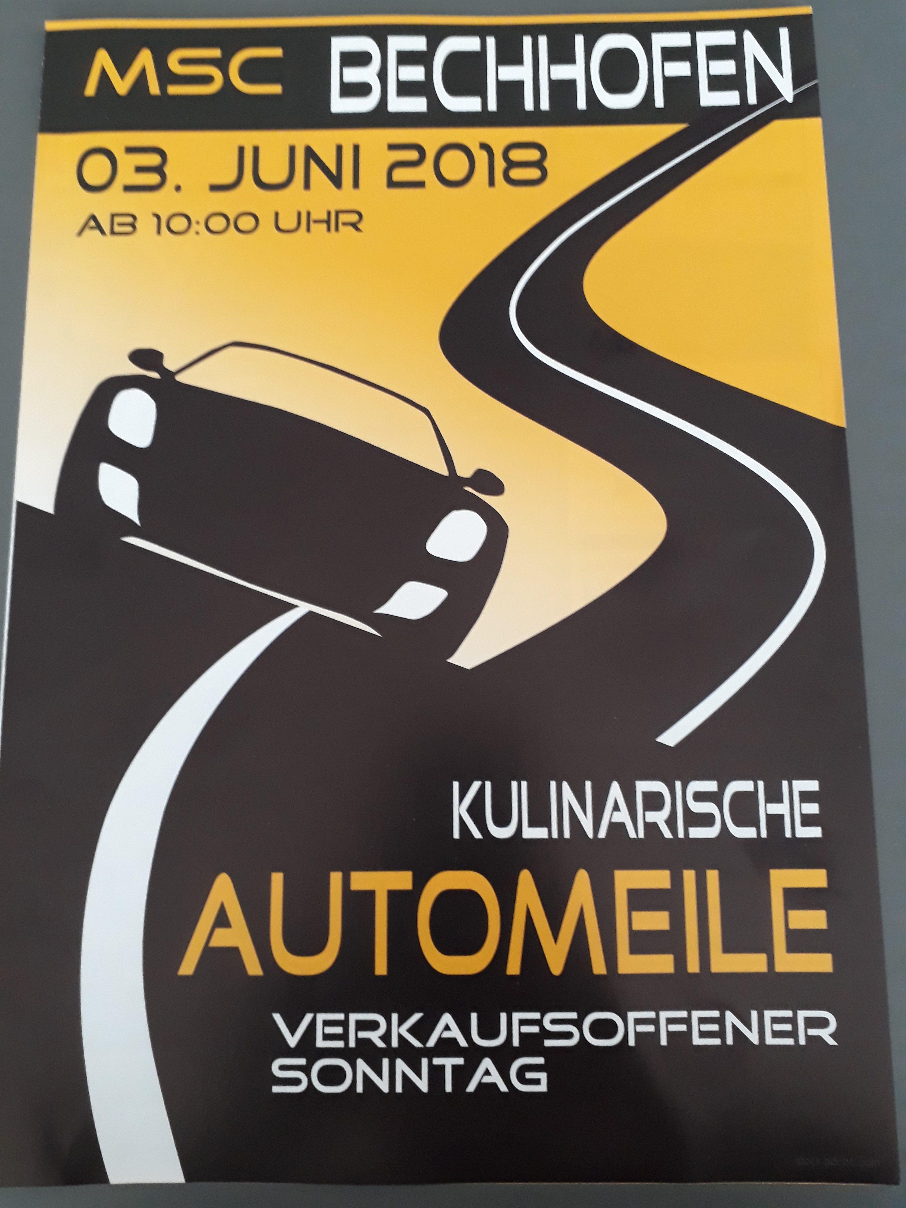 Kulinarische Automeile 03. Juni 2018